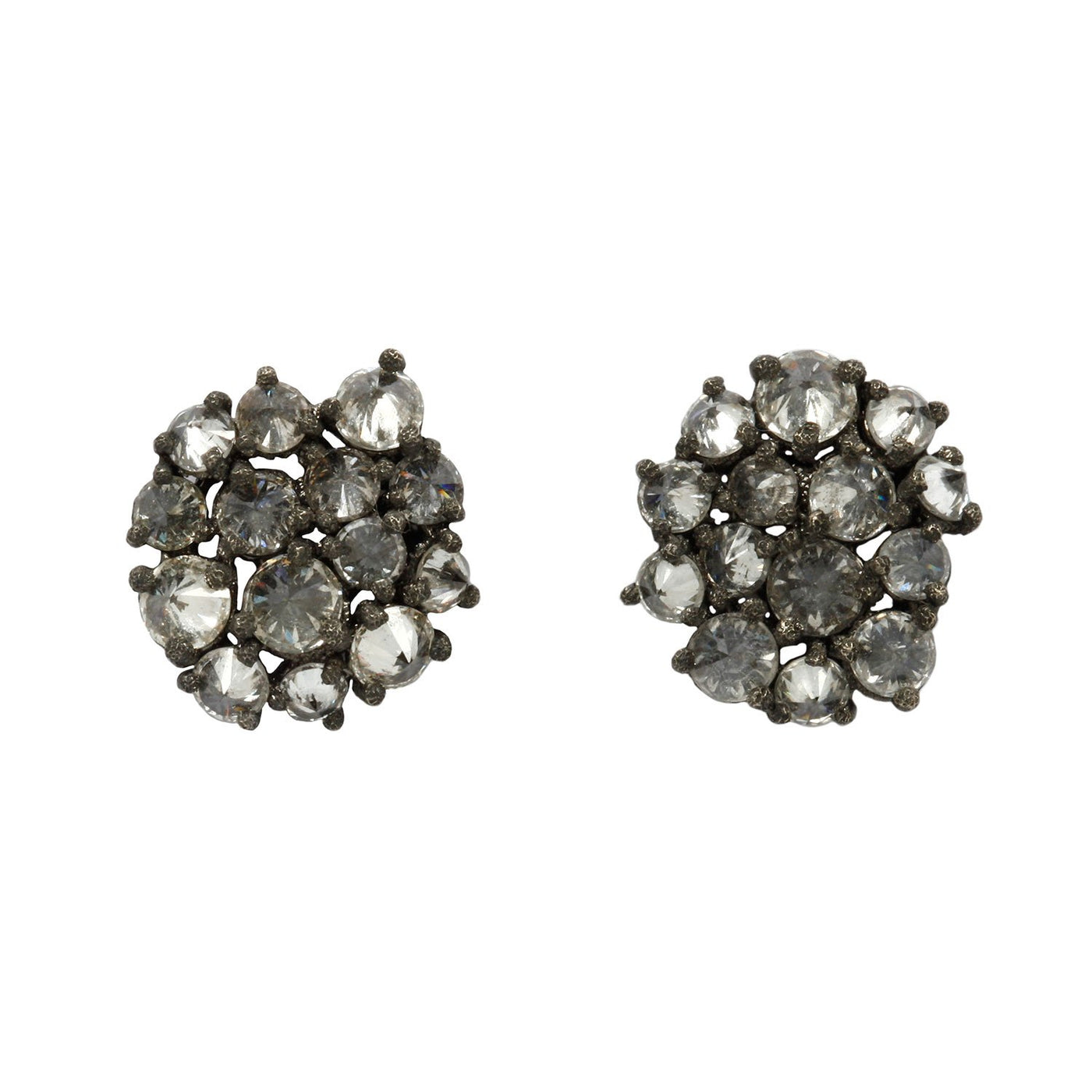 Tap by Todd Pownell Floral Cluster Studs