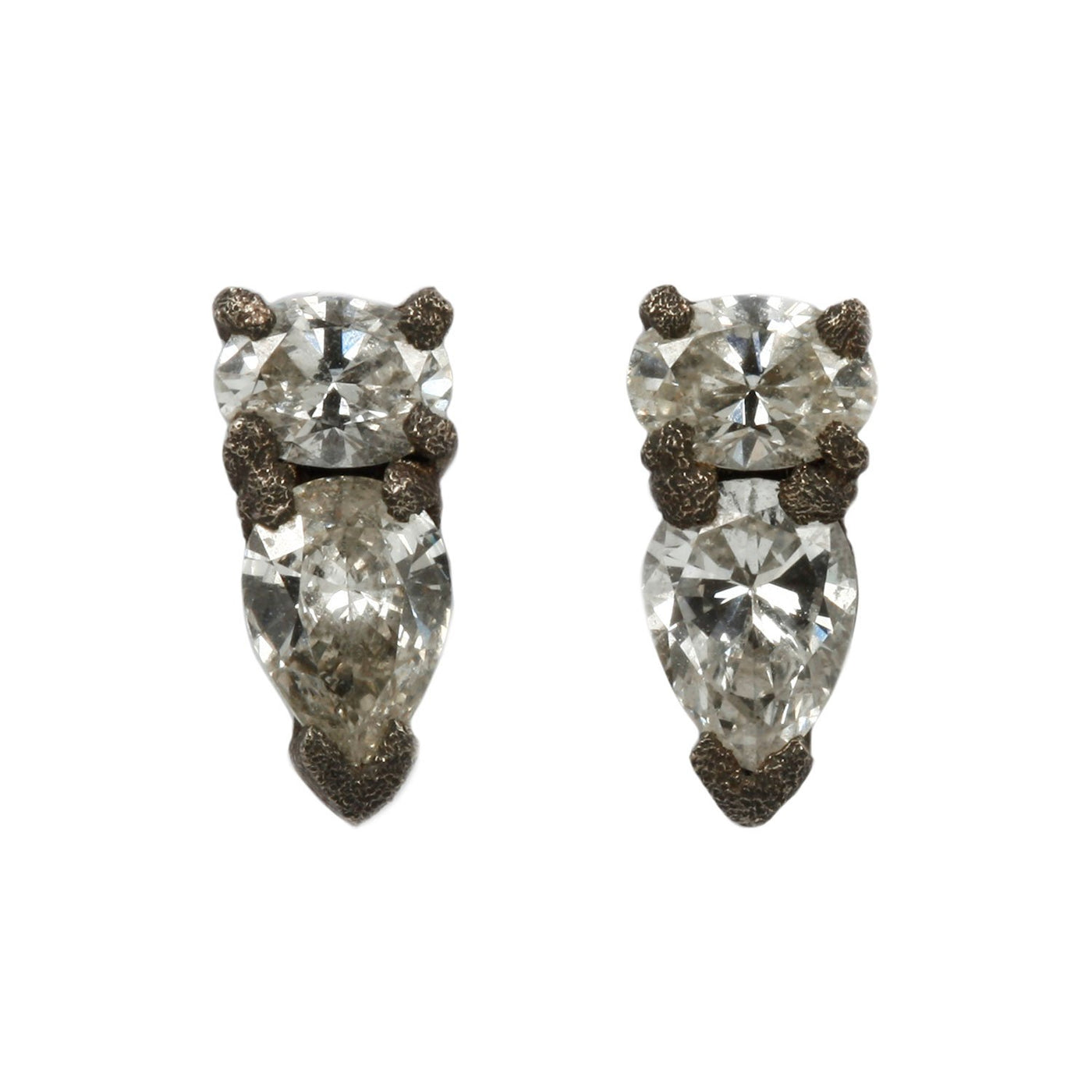 Inverted Diamond Studs