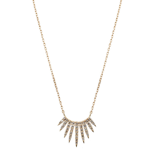 Celine D'Aoust Rising Sun Necklace