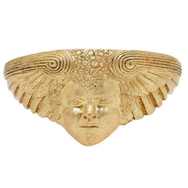 Anthony Lent Morpheus Ring Yellow Gold