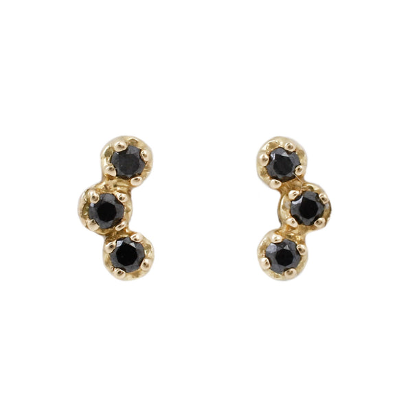 Orion Black Diamond Earrings
