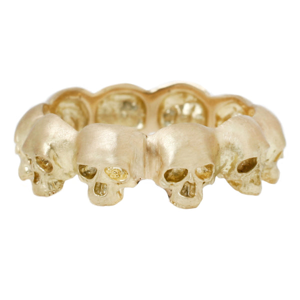 Anthony Lent Skull Eternity Band