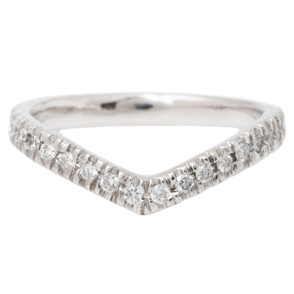 Wishbone Half Eternity Band