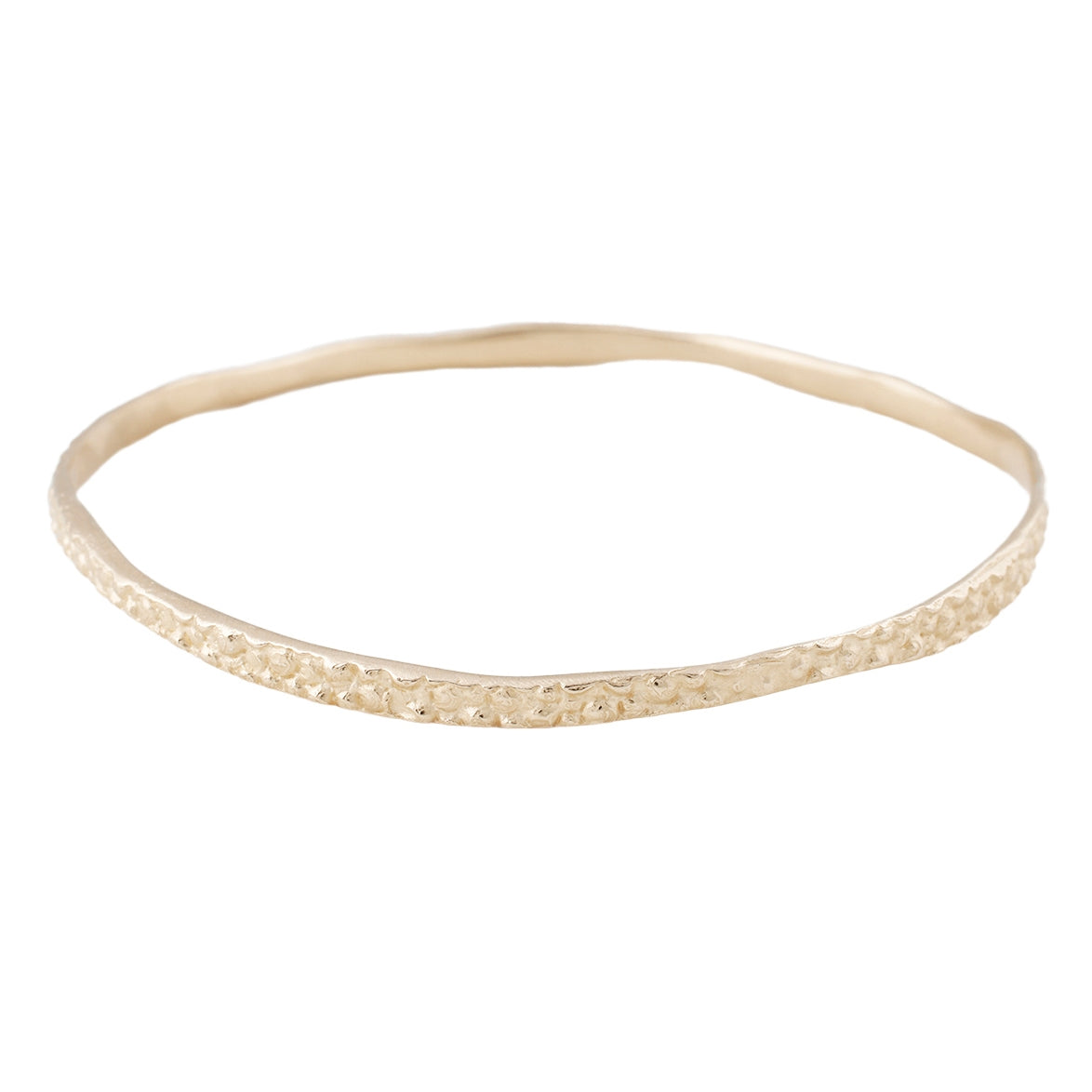14k Gold Stingray Bangle