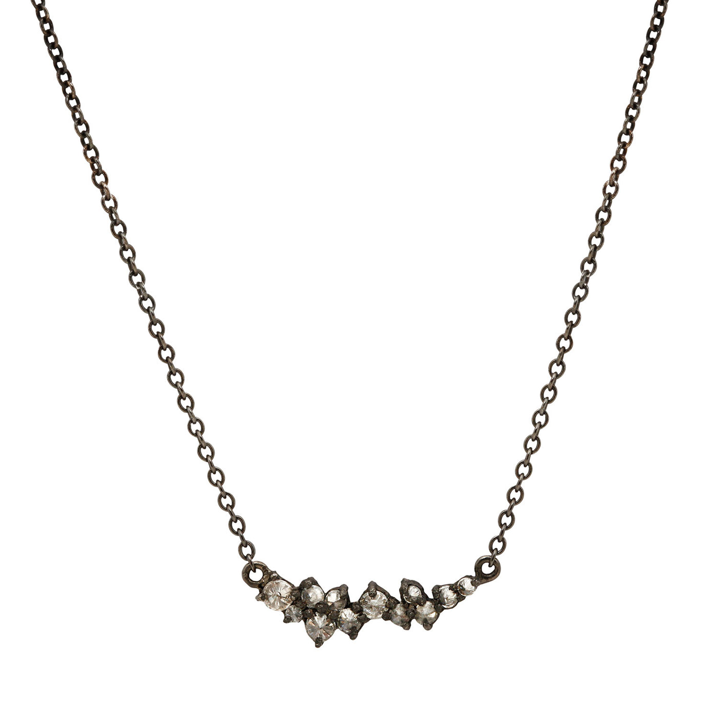Star Cluster Diamond Necklace