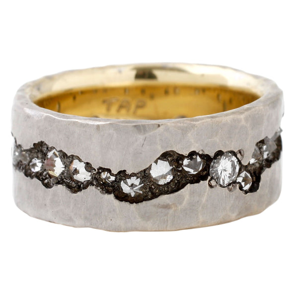 TAP by Todd Pownell White Diamond Eternity Band Ring