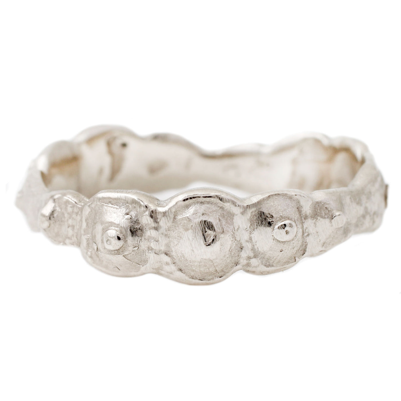Lauren Wolf Jewelry White Gold Urchin Bubbles Band