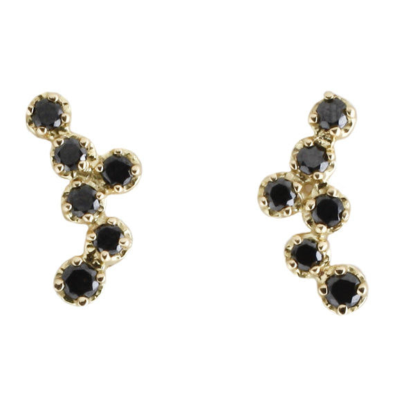 Hydra Black Diamond Studs