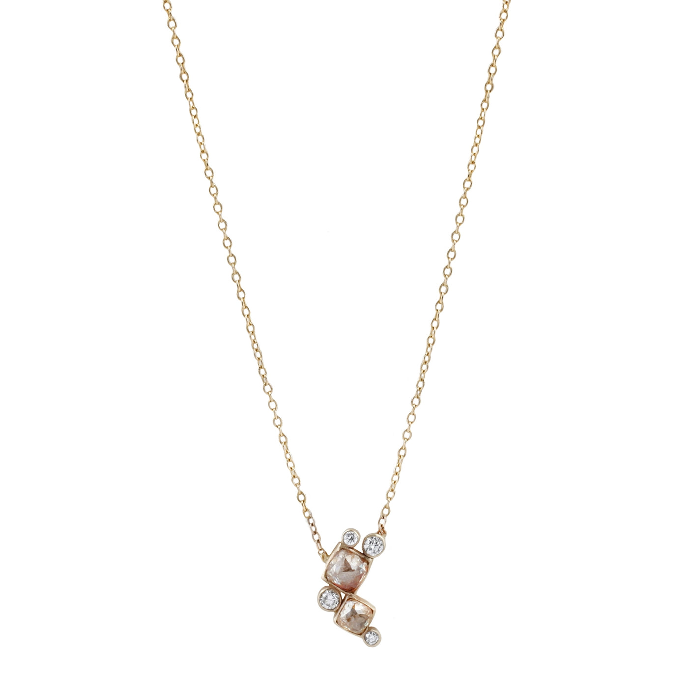 Rebecca Overmann Falling Bubbles Diamond Necklace