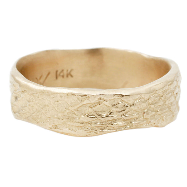 Gold Snakeskin Band