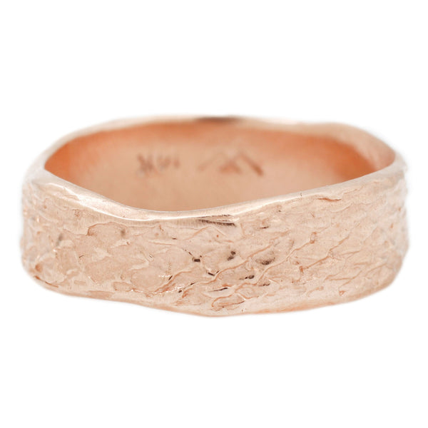Rose Gold Snakeskin Band