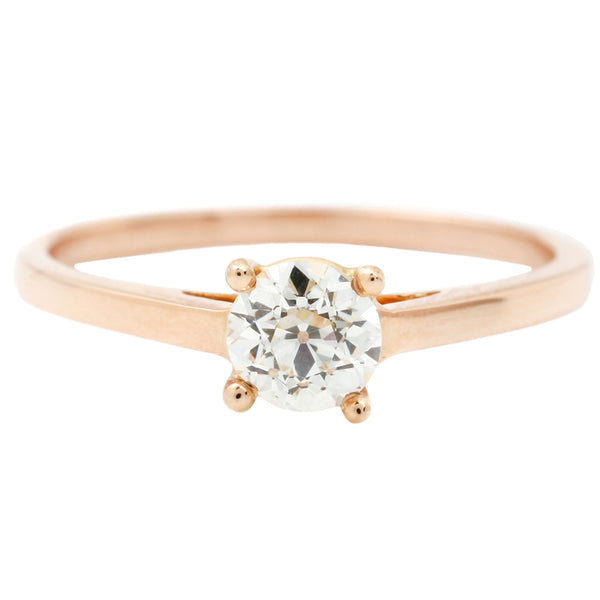 Rose Gold Classic Peak Ring