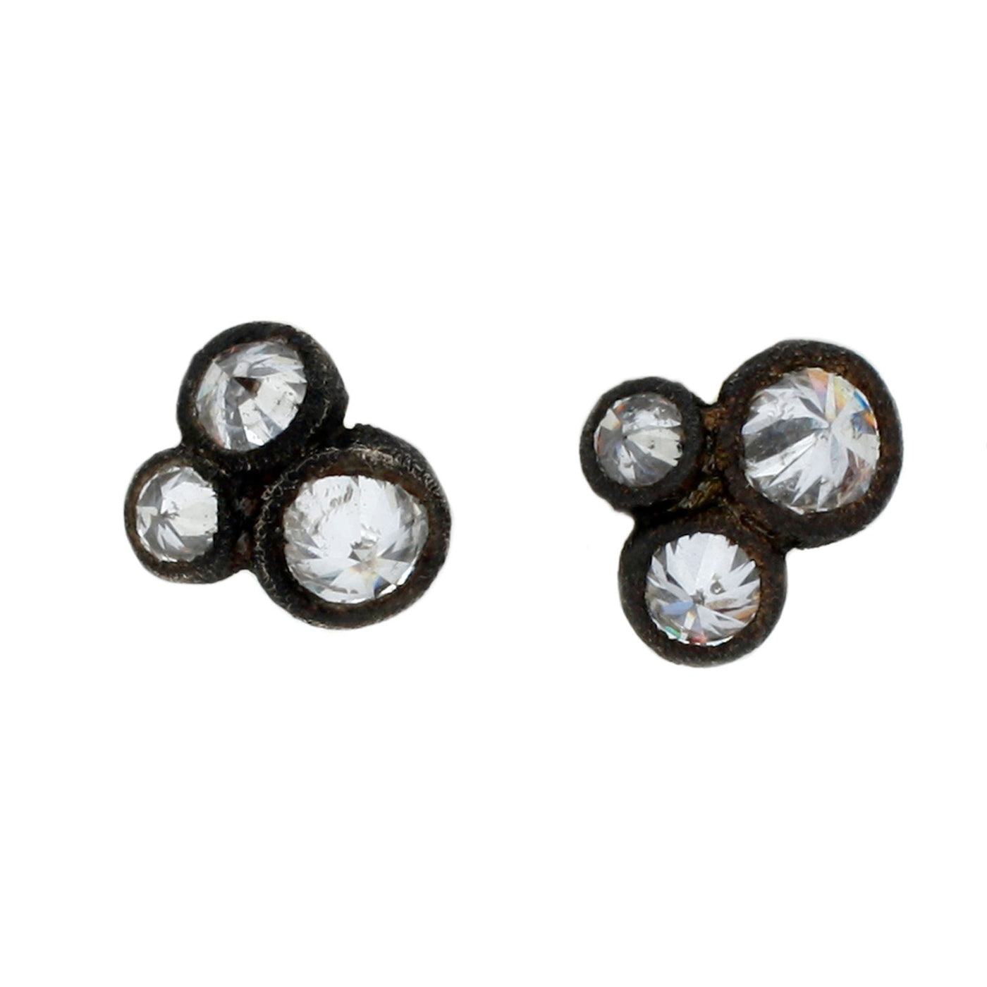 TAP by Todd Pownell Inverted Diamond Stud Earrings