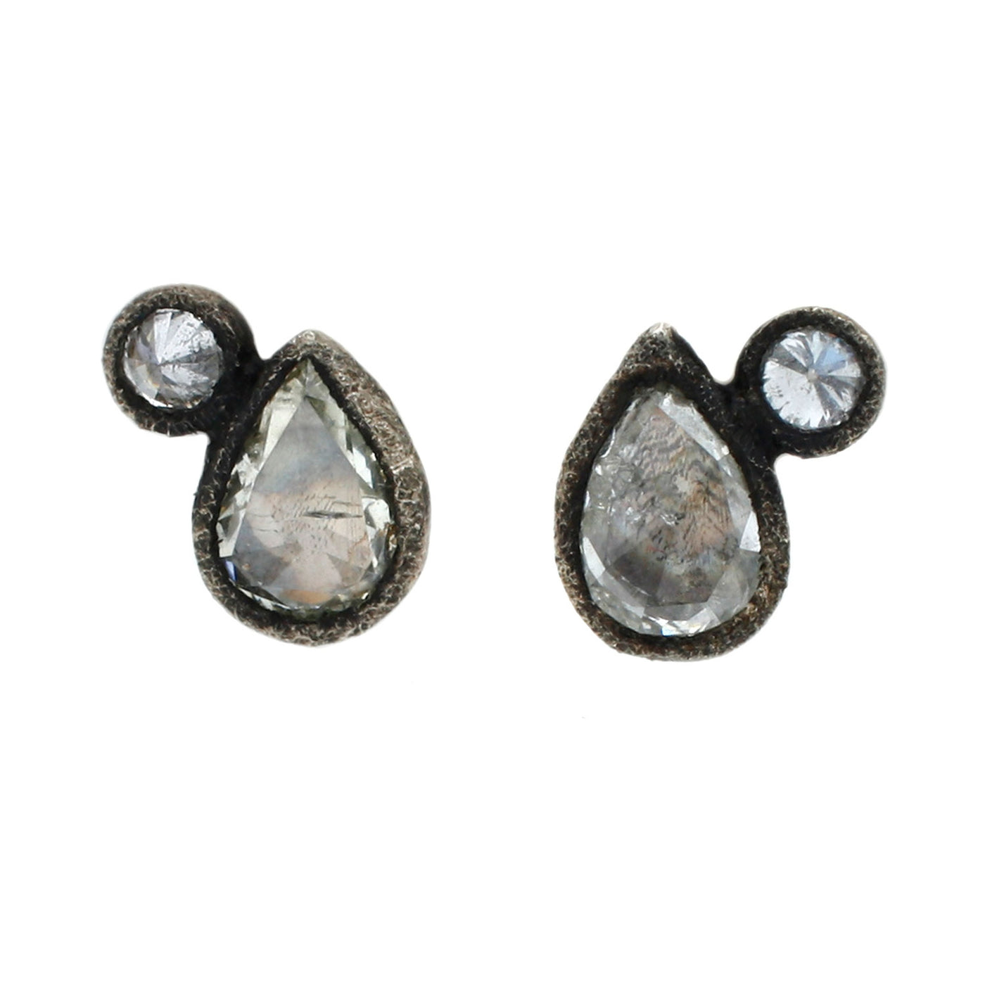 TAP by Todd Pownell Companion Diamond Stud Earrings