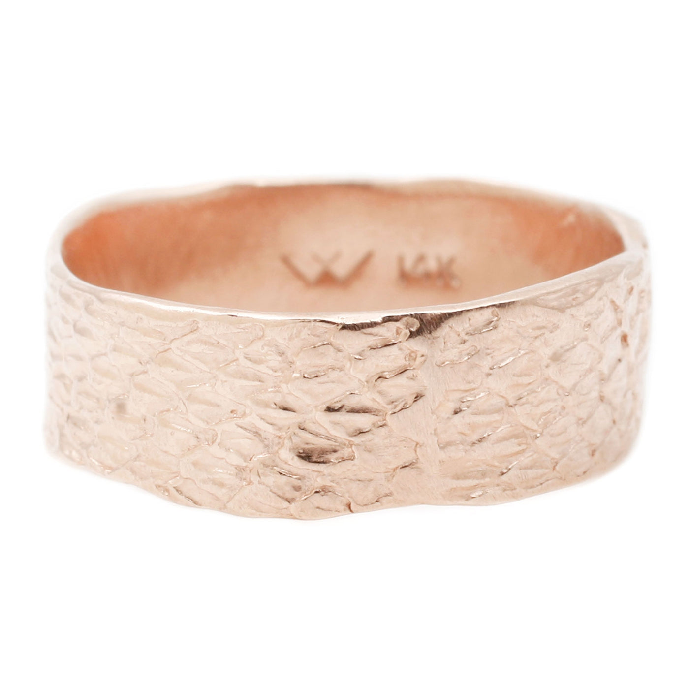 Rose Double Snakeskin Band