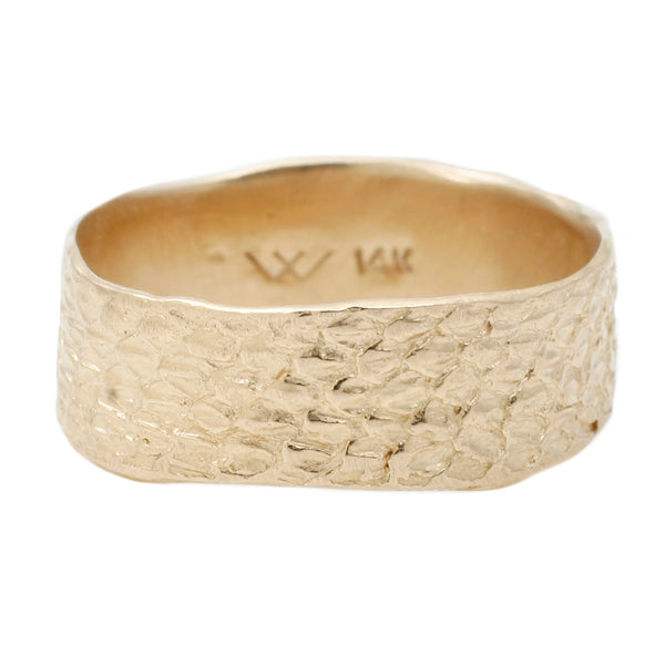 Gold Double Snakeskin Band