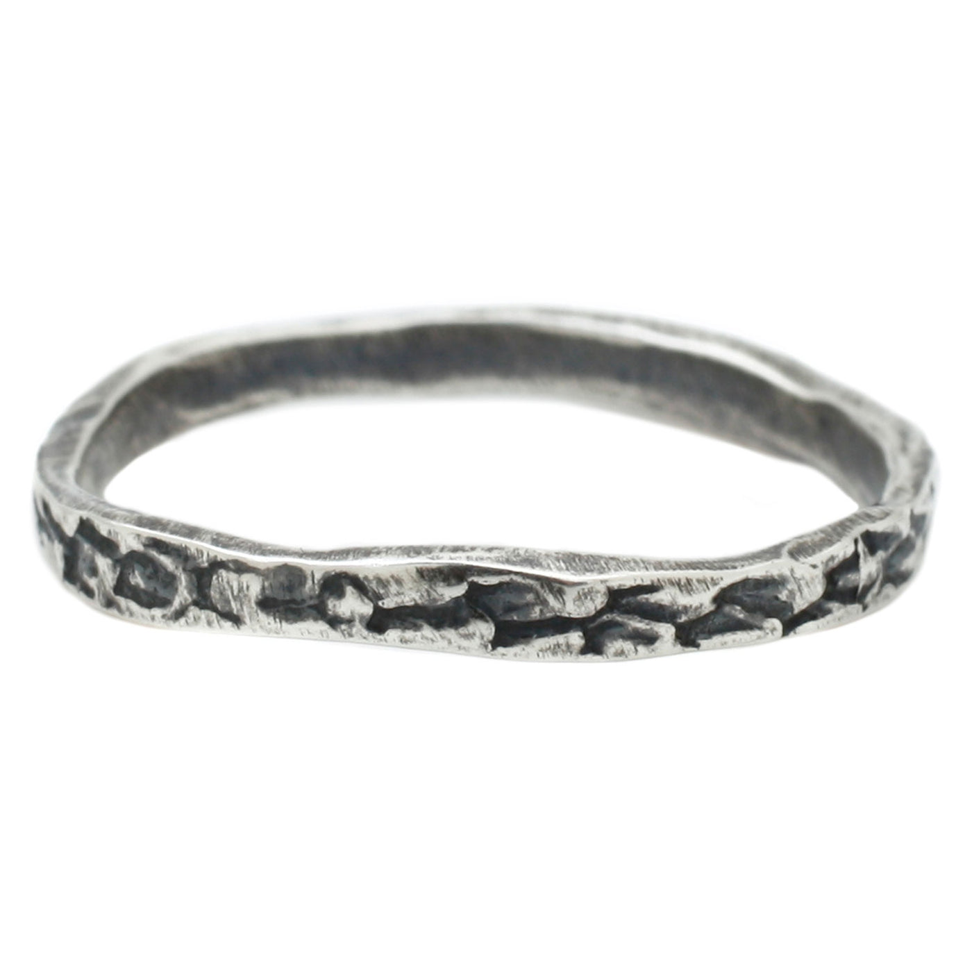 Silver Snakeskin Band