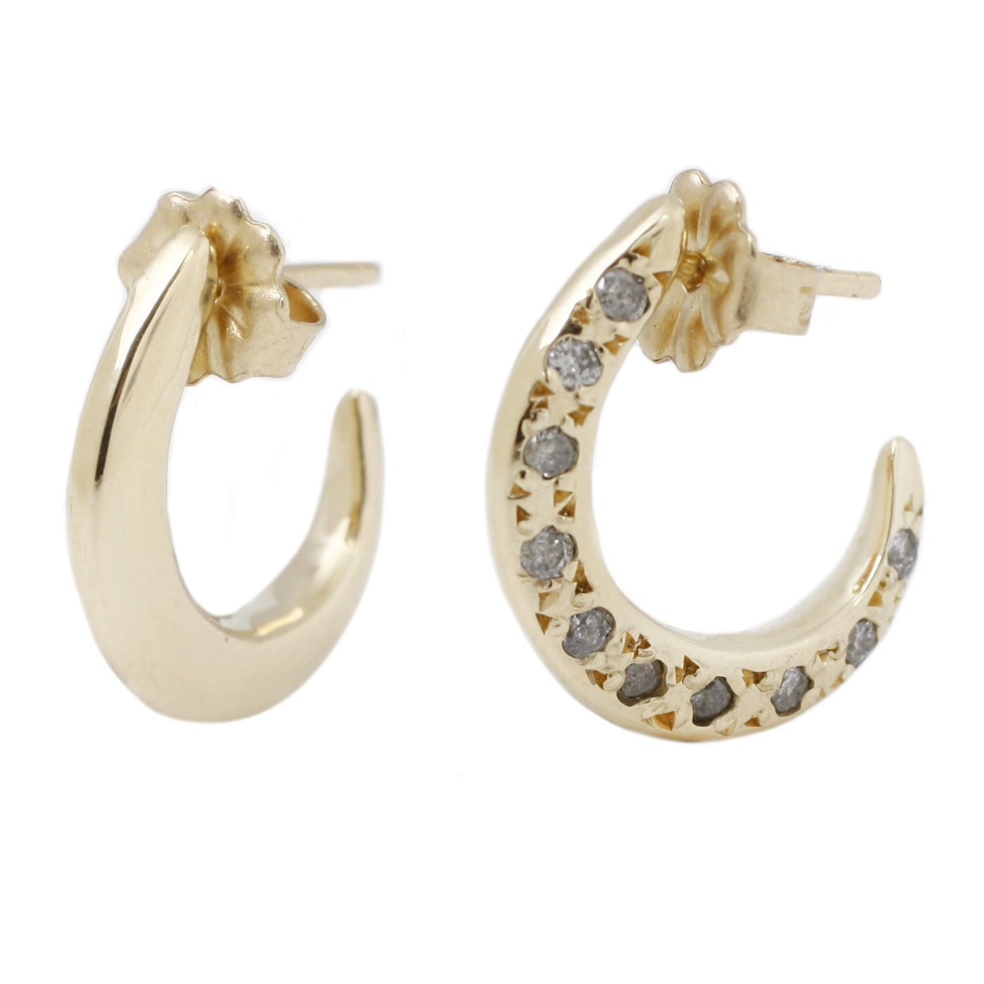 Single Sided Diamond Hoops