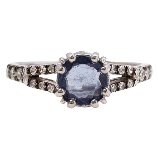 ManiaMania Beloved Sapphire Solitaire