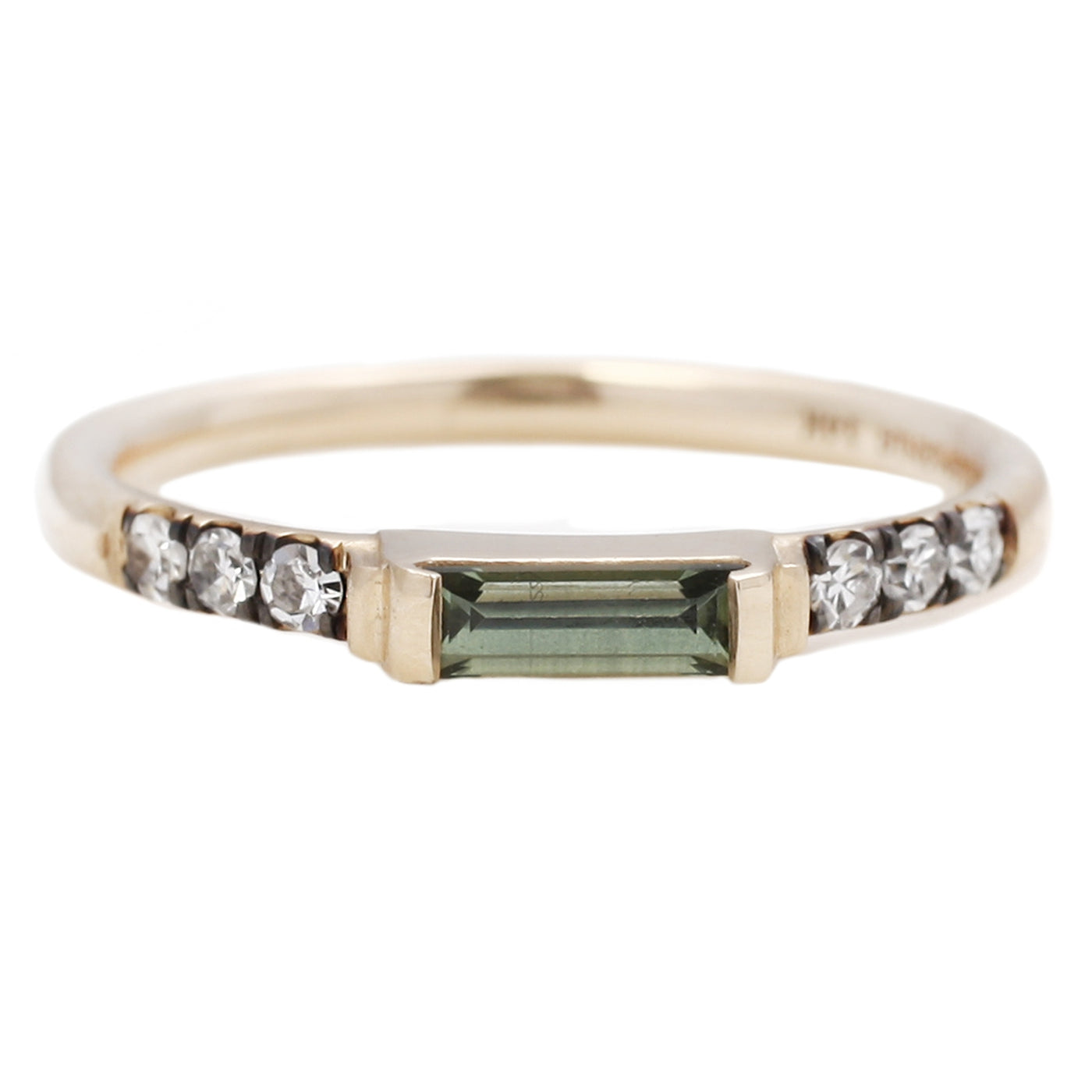 ManiaMania Green Sapphire Illumination Ring