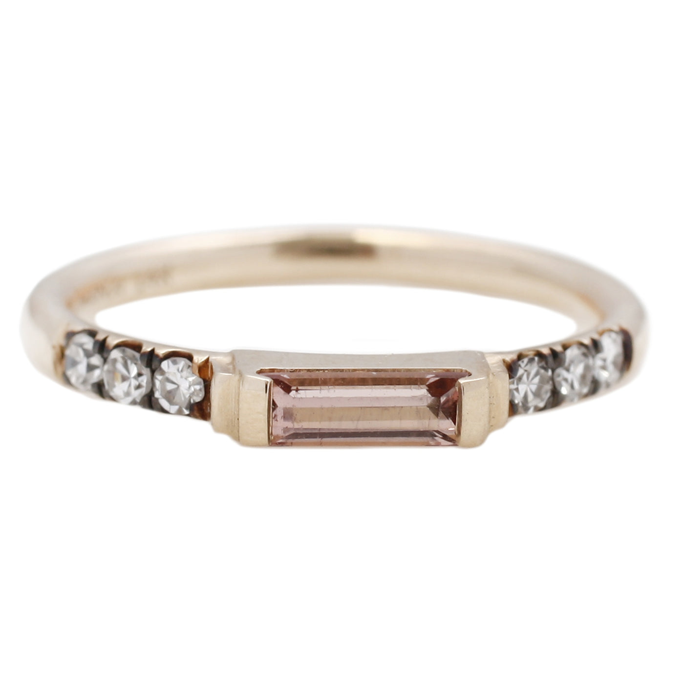 ManiaMania Peach Tourmaline Illumination Ring