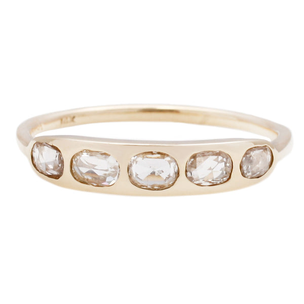 Scosha Five Oval Diamond Ring