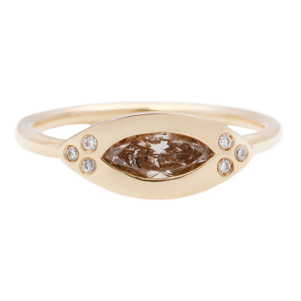Scosha Marquise Diamond Eye Ring