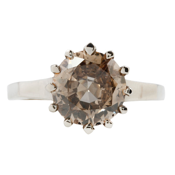 Argyle Solitaire Ring