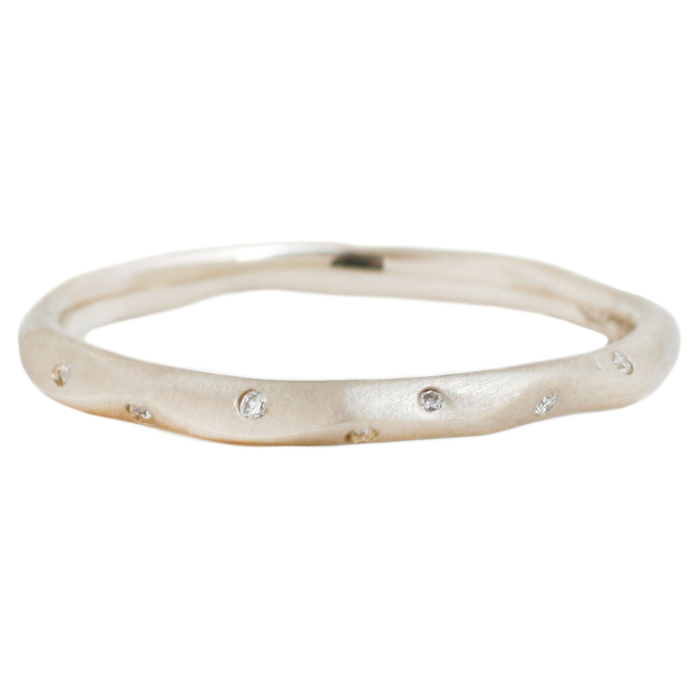 Rebecca Overmann Diamond Water Band in White Gold