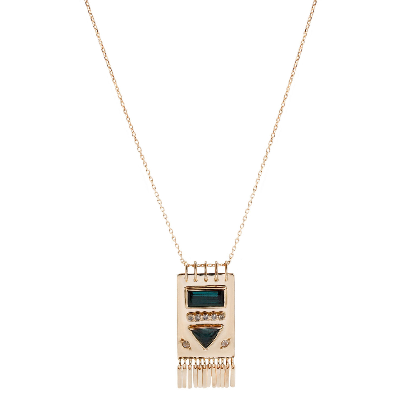 Celine D'Aoust Pampille Necklace