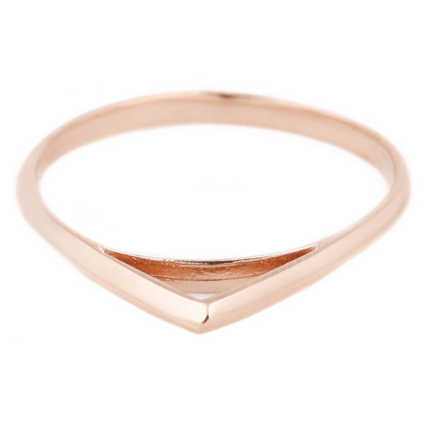 Rose Gold Peak Ring