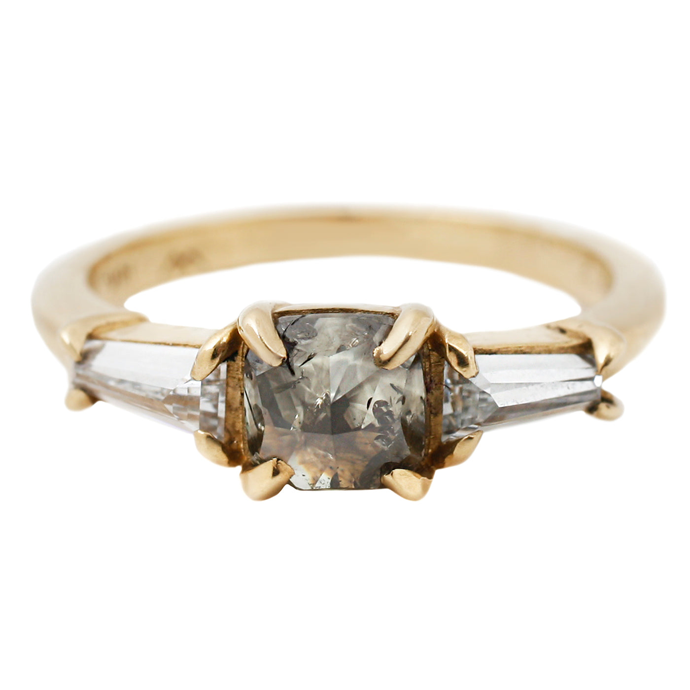 Lauren Wolf Jewelry Green Goddess Diamond Ring
