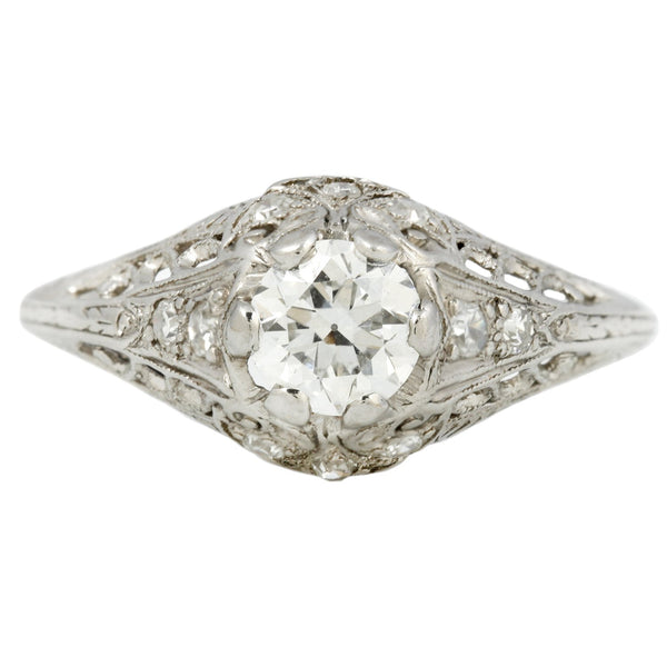 Vintage Marquise Deco Diamond Ring