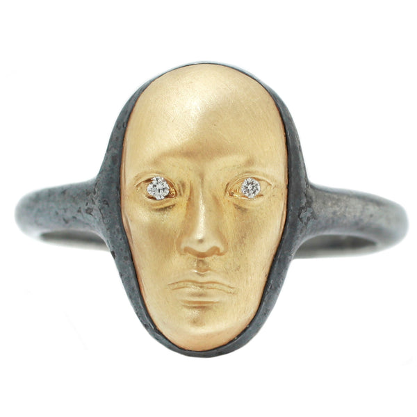 Anthony Lent Vertical Vulcana Ring