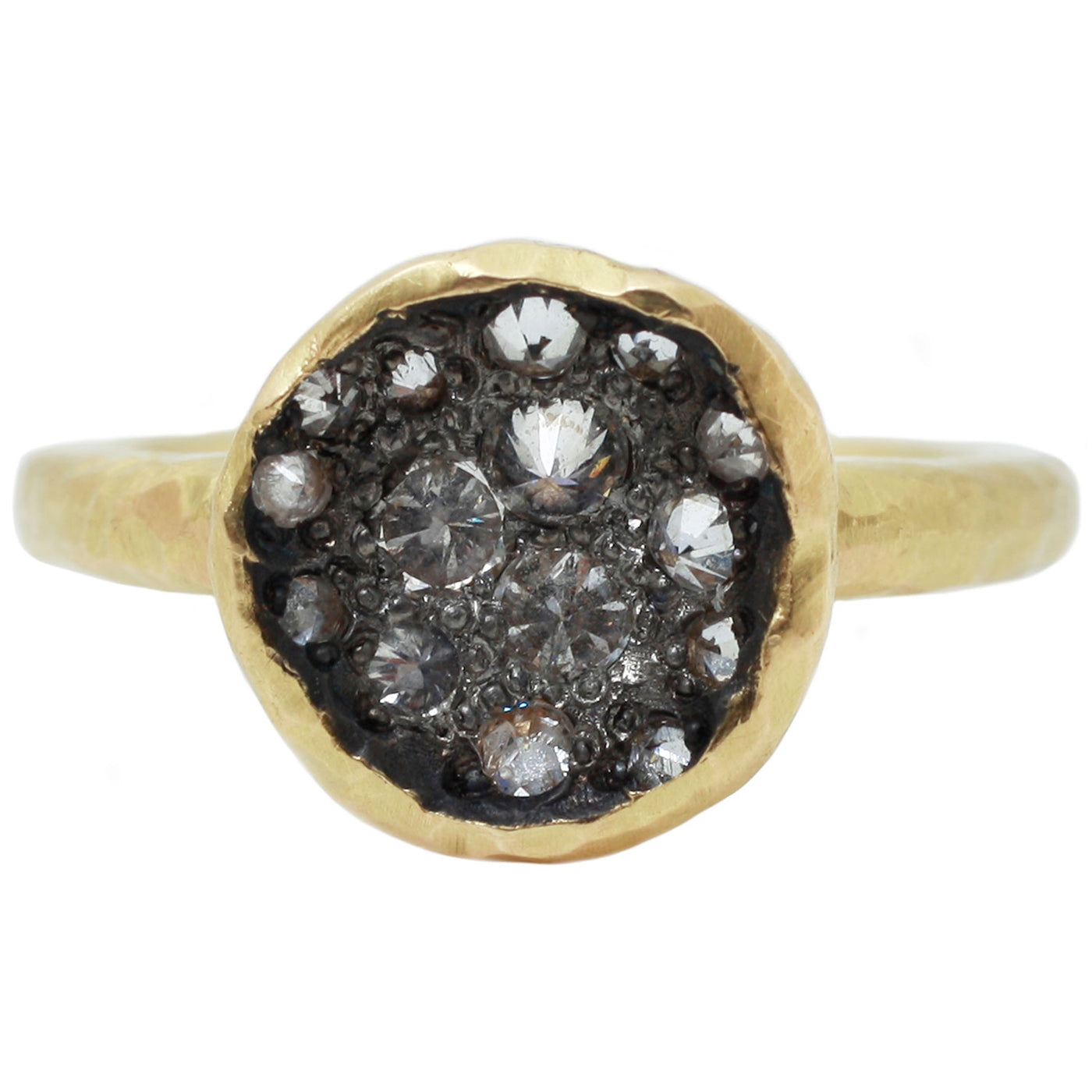 TAP by Todd Pownell Diamond Crater Ring