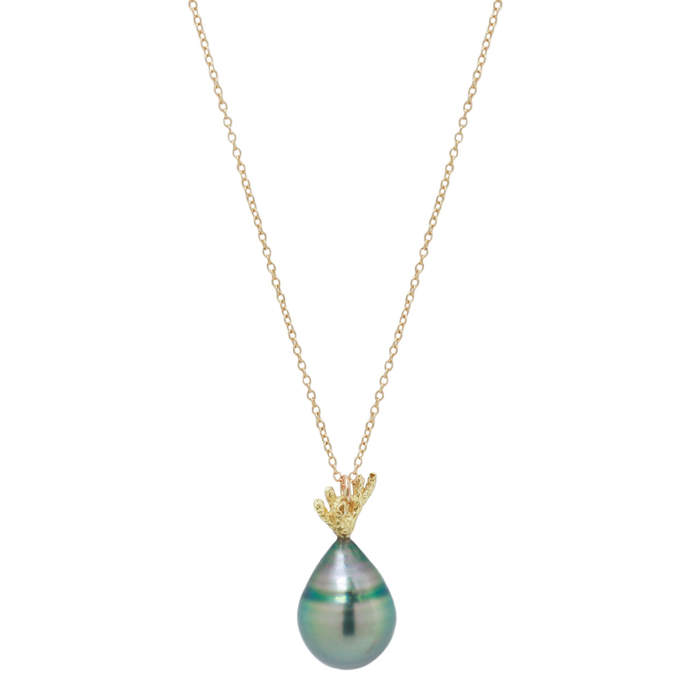 Tahitian Pearl Drop Necklace
