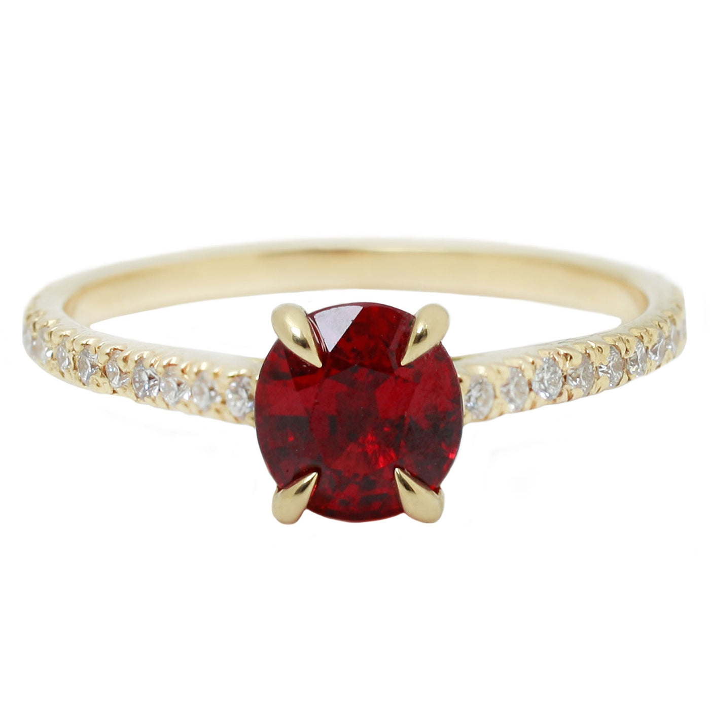 Ruby Peak Ring