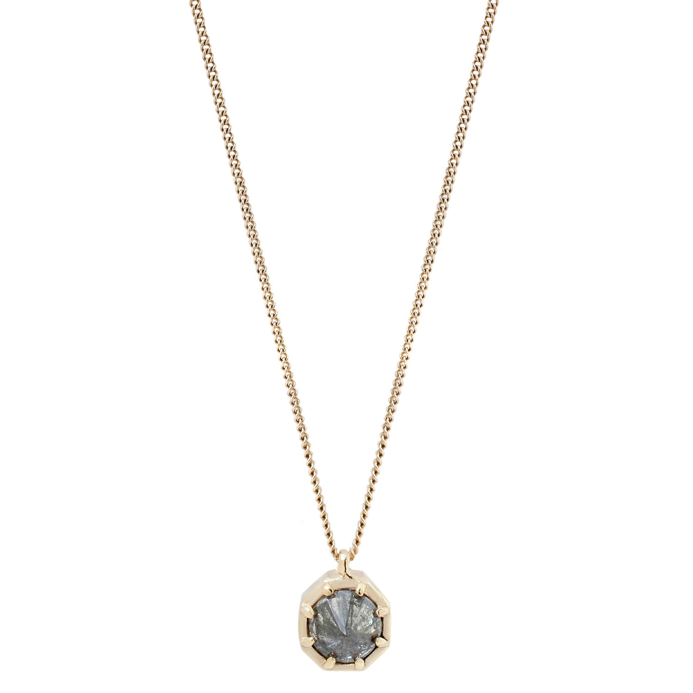 Point Up Diamond Necklace