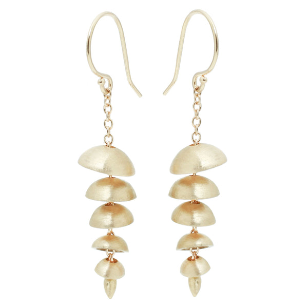 Sarah Swell Gold Chime Earrings