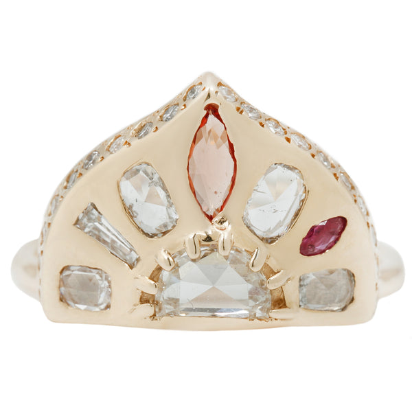 Scosha Mariam Shield Ring
