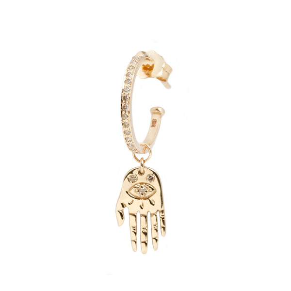 Celine D'Aoust Palm Reading Single Earring