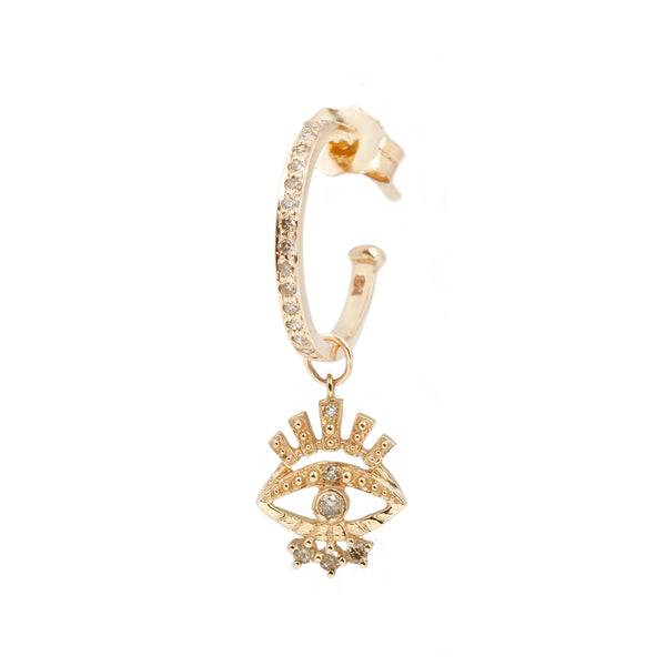 Celine D'Aoust Sun Eye Single Earring