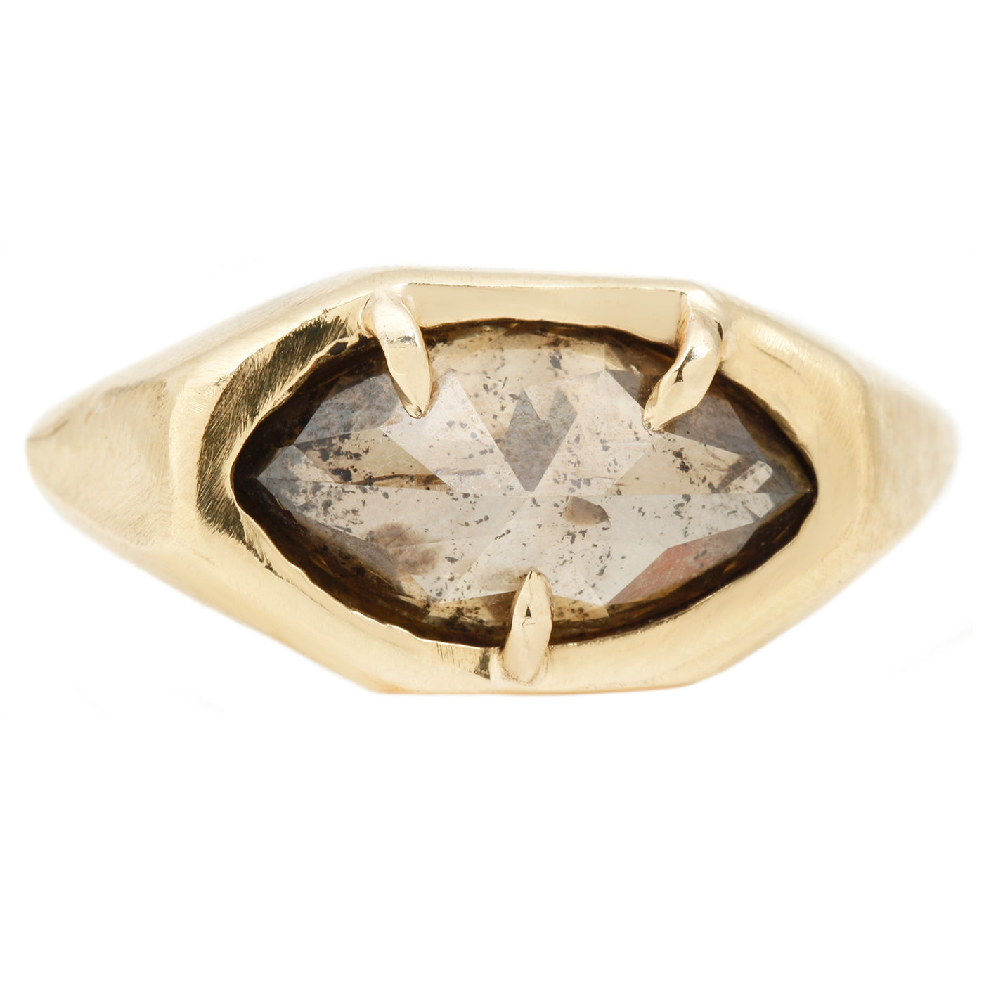 Signet Marquise Ring
