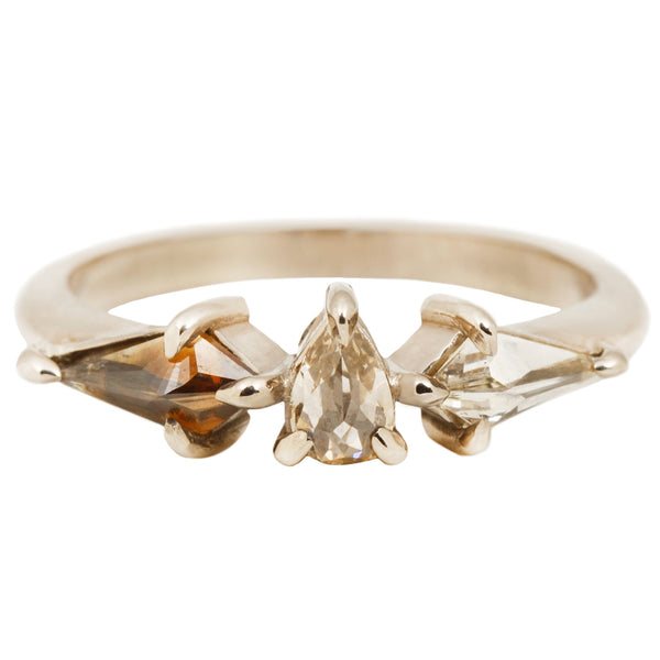 Stellar Three Diamond Ring