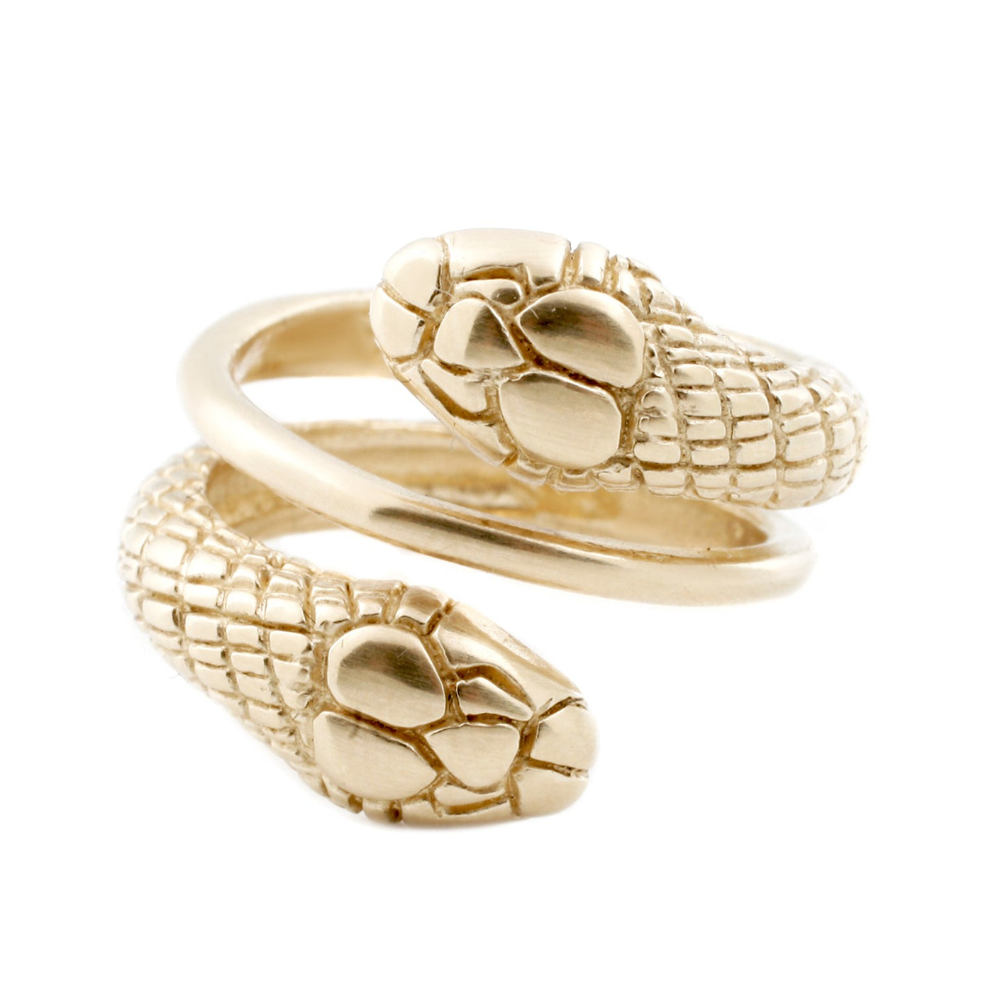 Katrina LaPenne Gold Double Snake Ring
