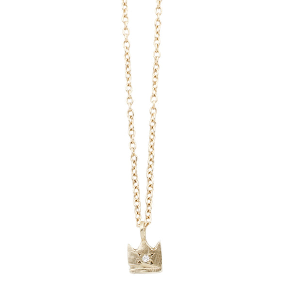 Scosha Gold Crown Necklace