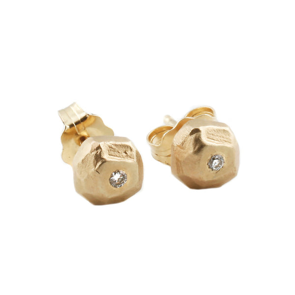 Sarah Swell Mini Boulder Stud Earrings