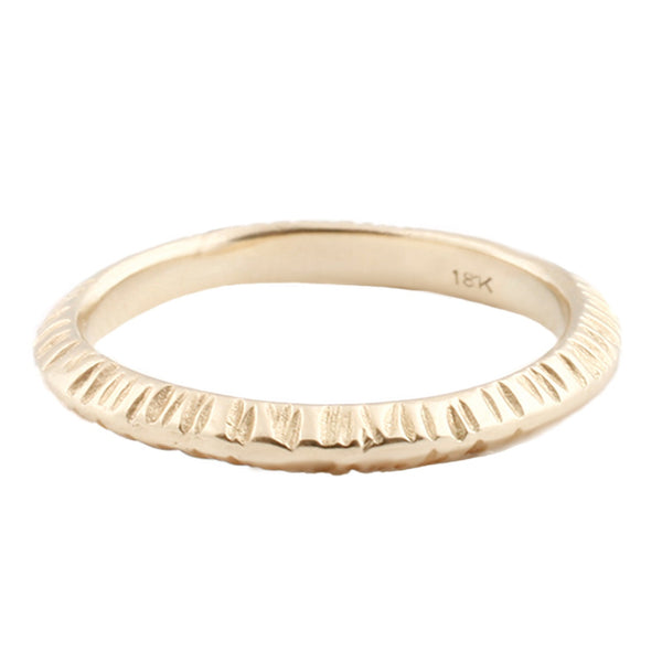 Sarah Swell Notch Band Ring