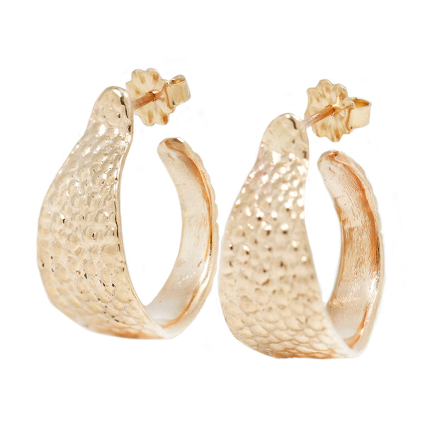 Lauren Wolf Gold Stingray Cuff Hoops