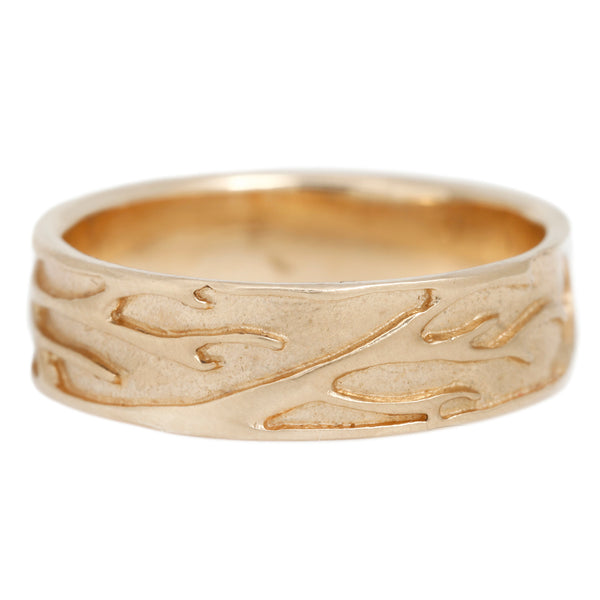 Luana Coonen Yellow Gold Branching Ring